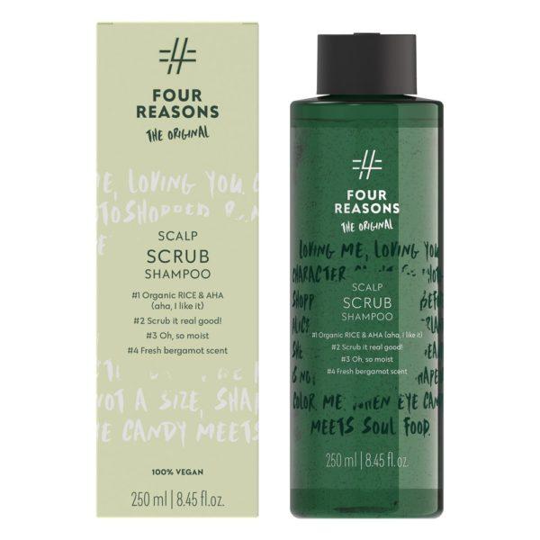 Four Reasons Original Scalp Scrub Shampoo