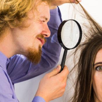 Tunnista hiuspohjan ongelmat