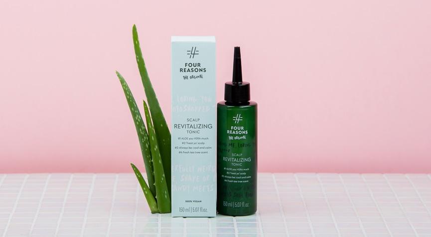 Four Reasons Original Scalp Revitalizing Tonic -hiusvesi ylläpitää hiuspohjan hyvinvointia