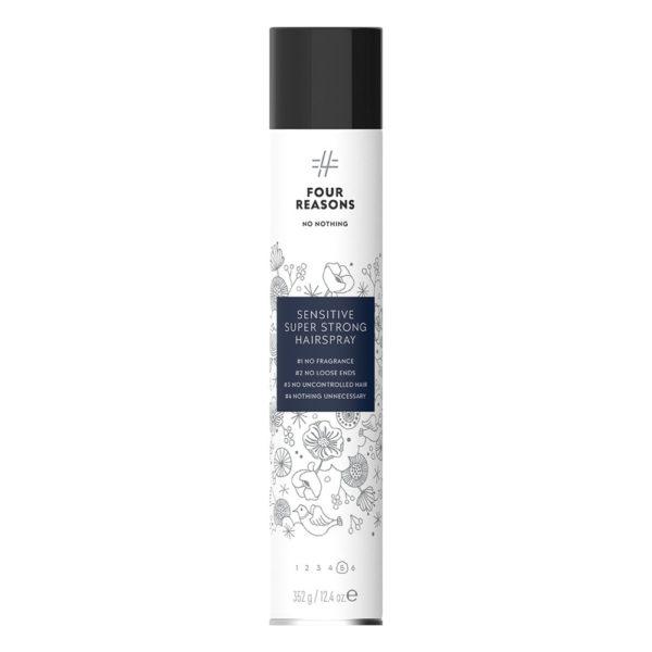 Four Reasons No Nothing Sensitive Super Strong Hairspray 500 ml